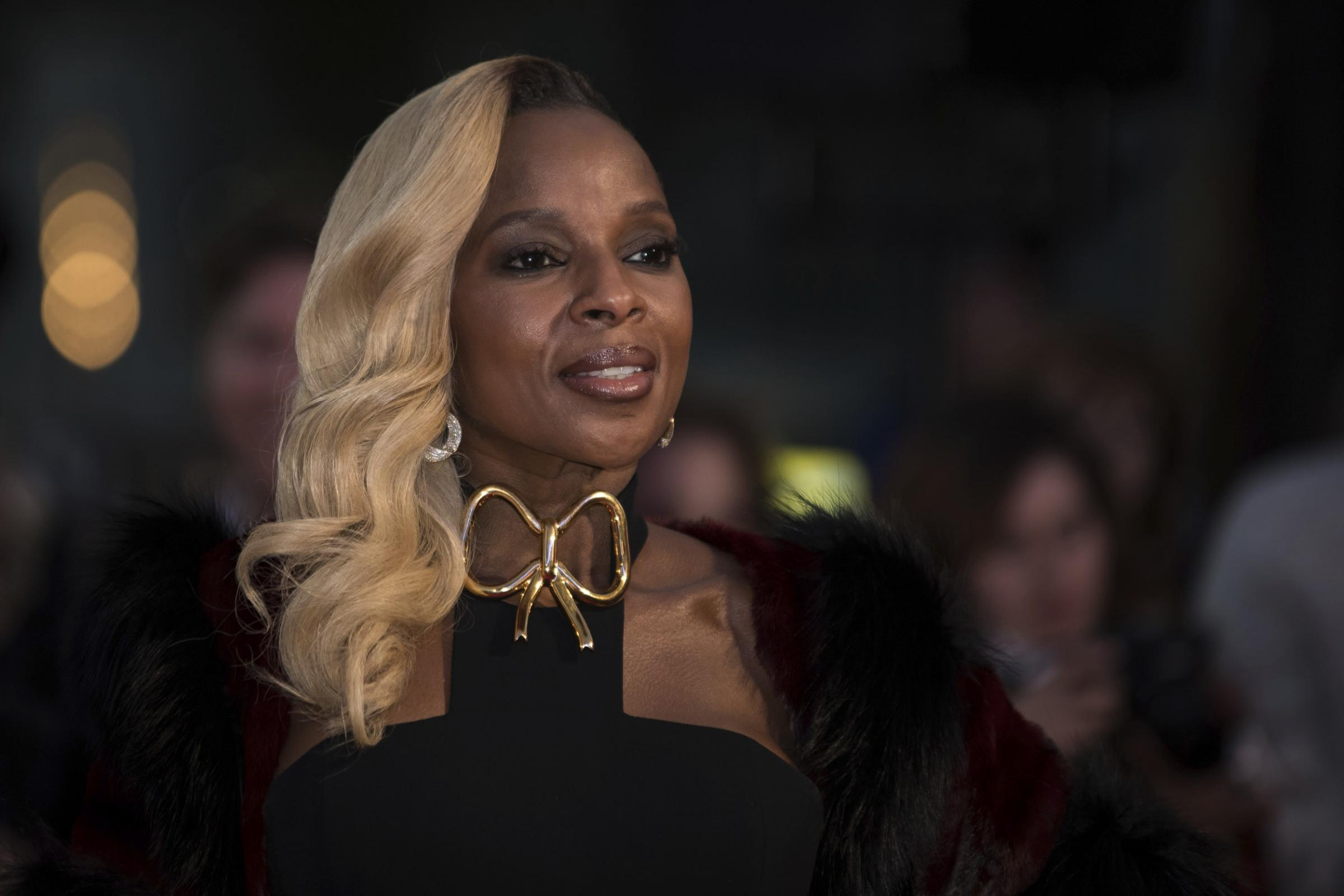 Actress and musician Mary J. Blige (Vianney Le Caer/Invision/AP)