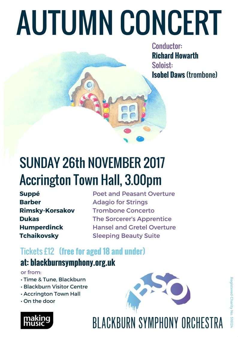 Blackburn Symphony Orchestra Autumn/ Winter Concert