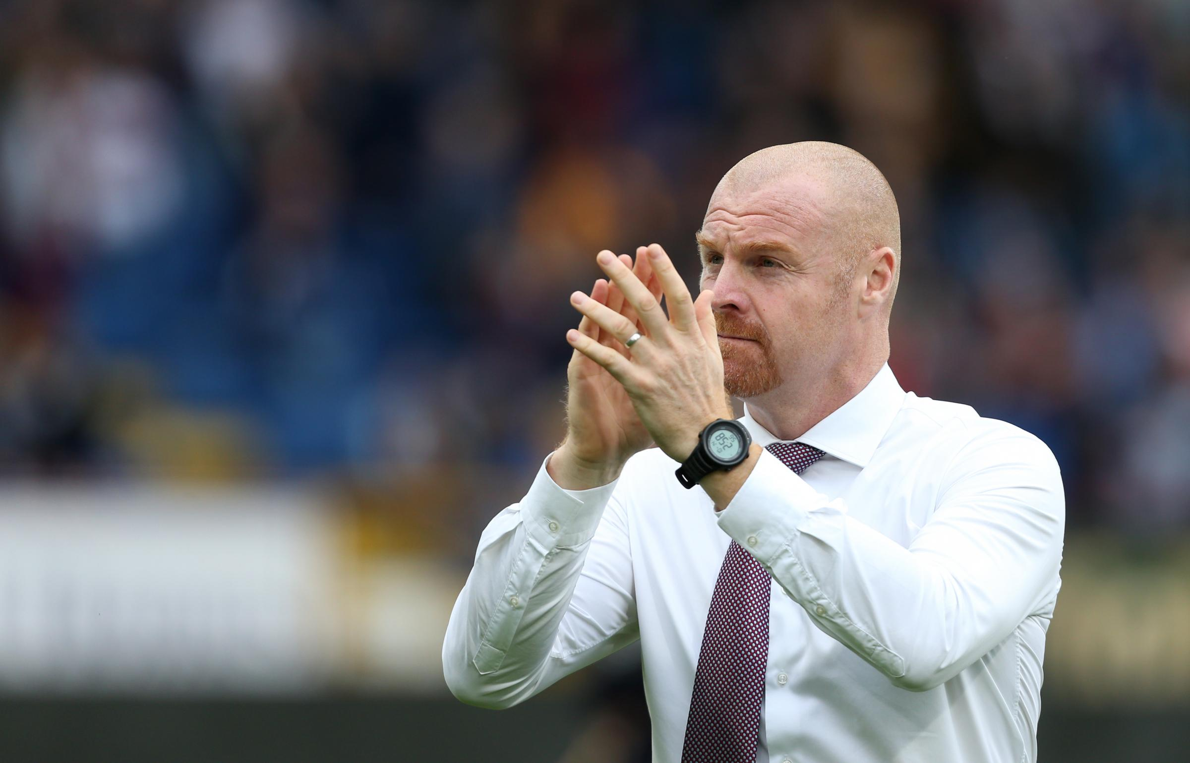 Sean Dyche has been nominated for the Premier League manager of the month award for October