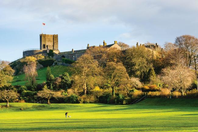 Clitheroe Castle in the Ribble Valley