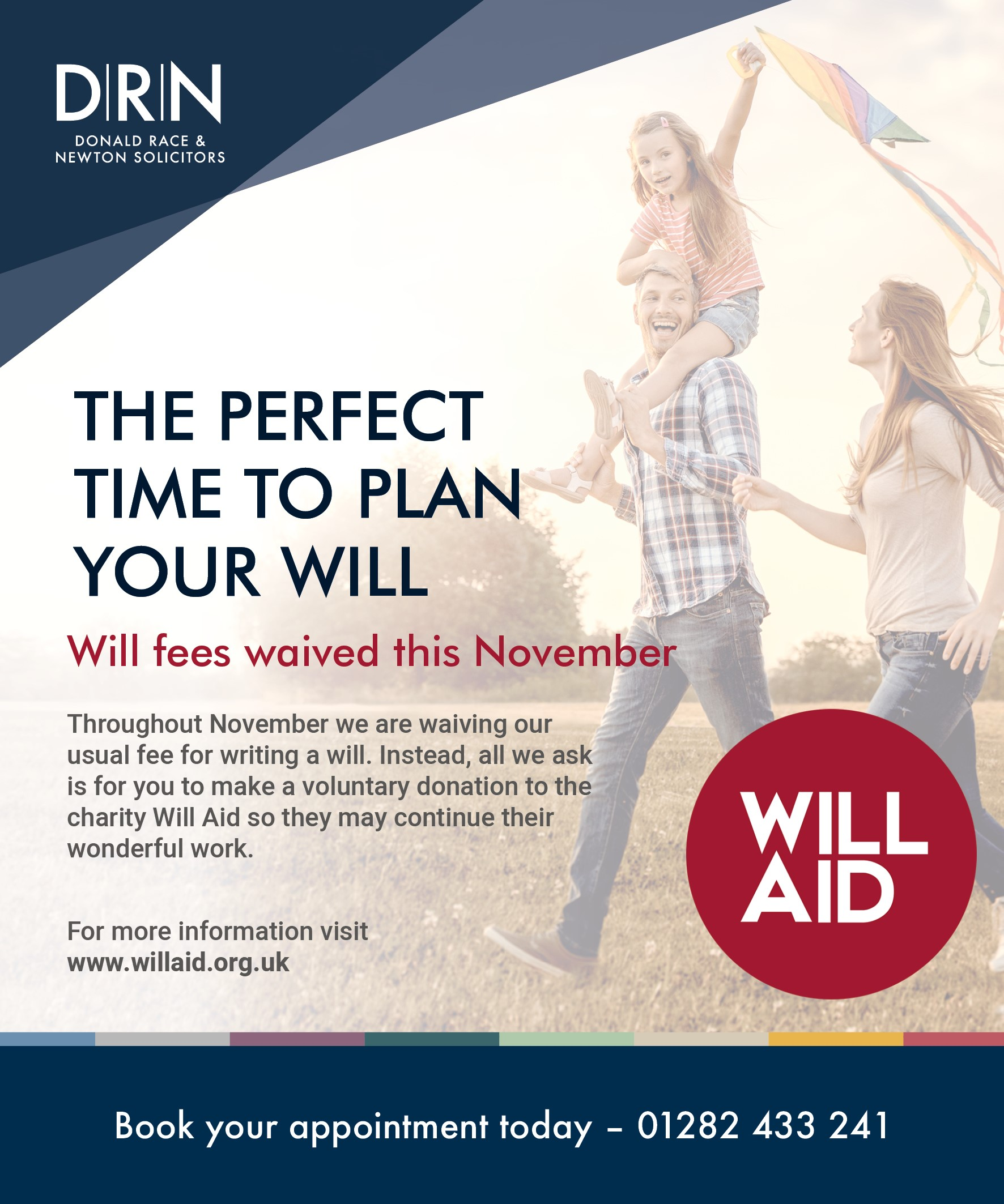 DRN Joins Forces with Will Aid For November