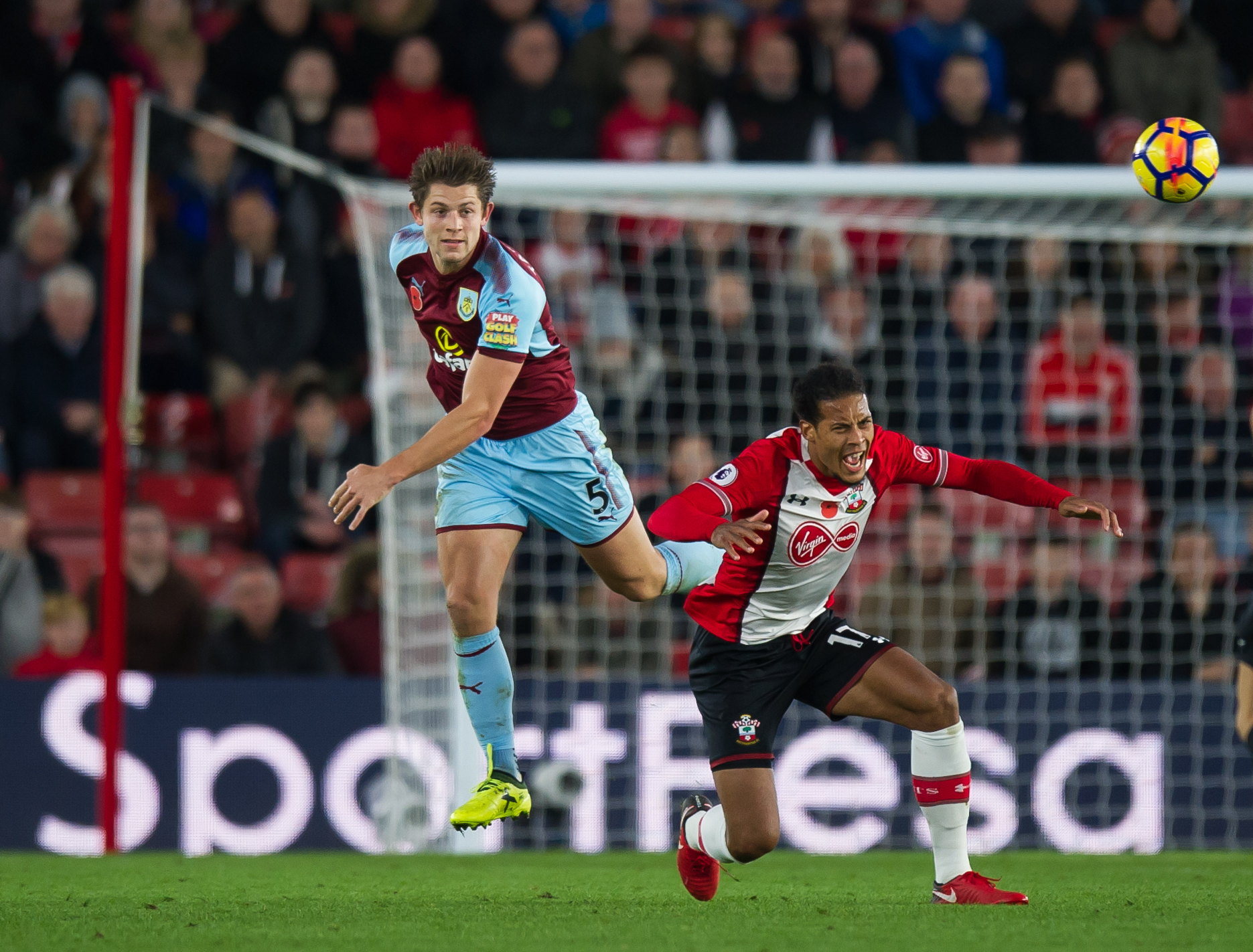 James Tarkowski has been in excellent form for Burnley this season