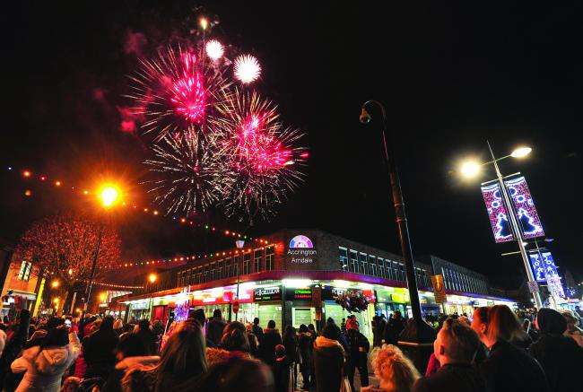 Last year's Christmas Lights switch on in Accrington