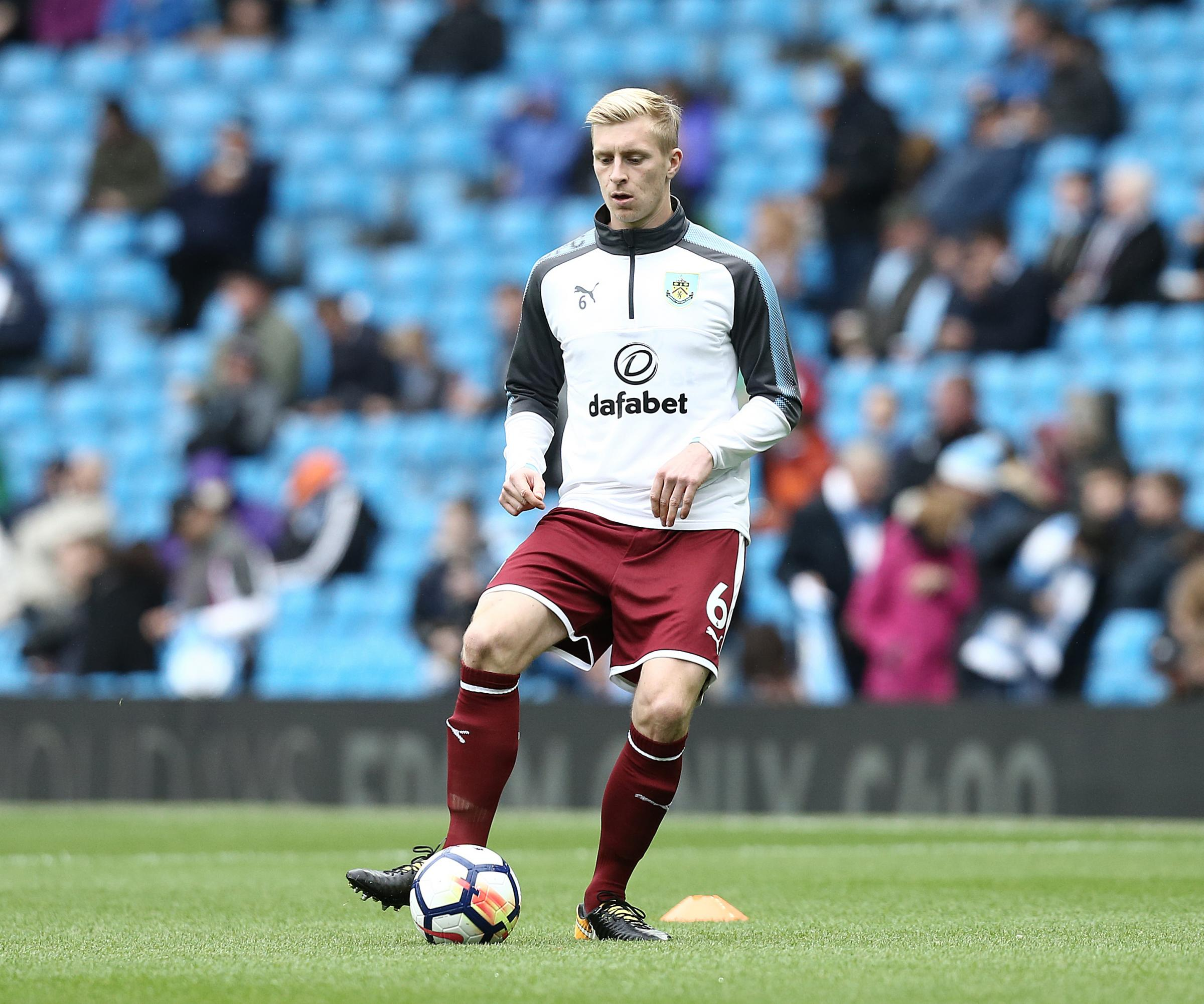 Ben Mee is set to return for Burnley at Brighton