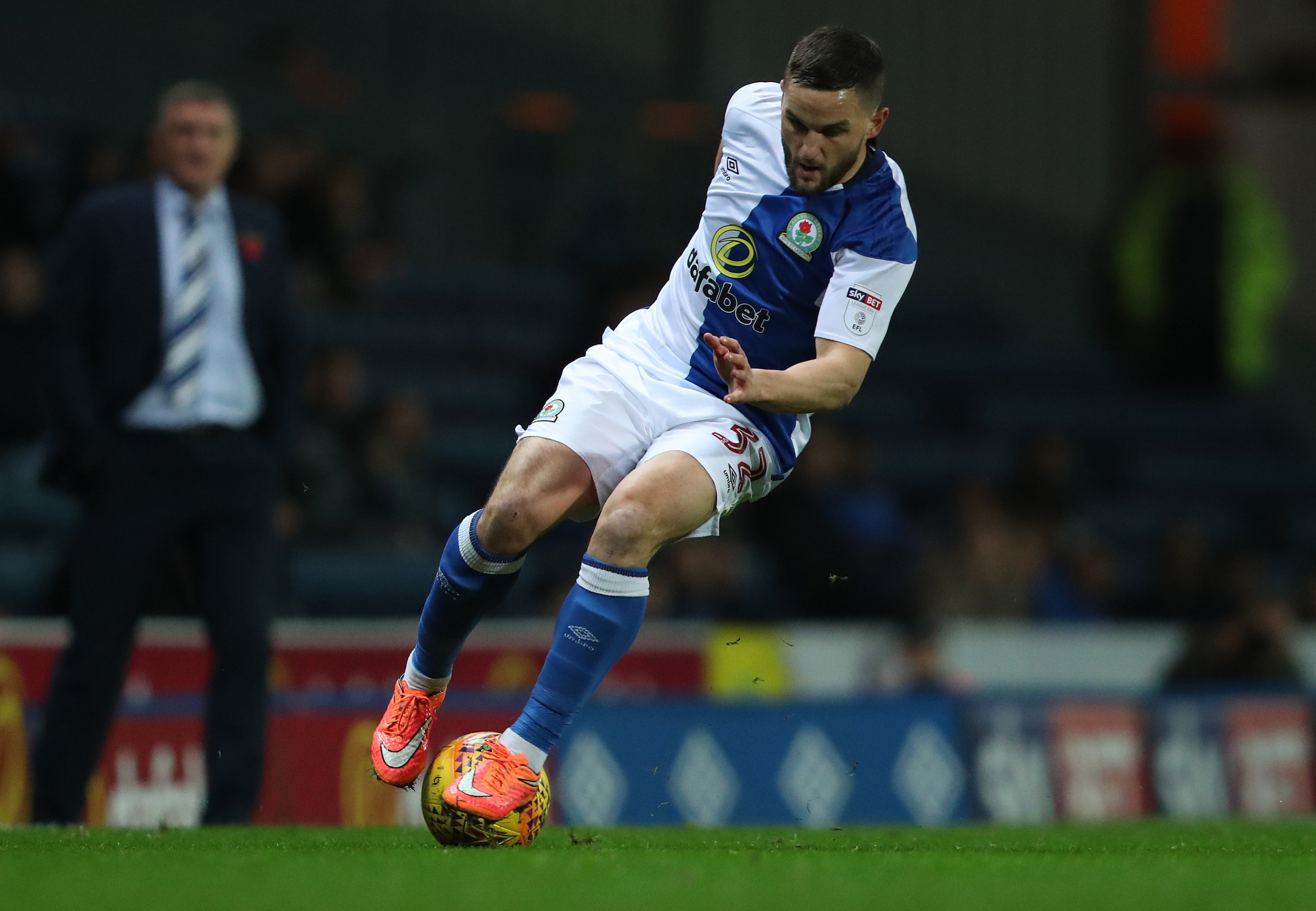 Tony Mowbray hopes for Craig Conway fitness boost ahead of Rovers' trip to Bury