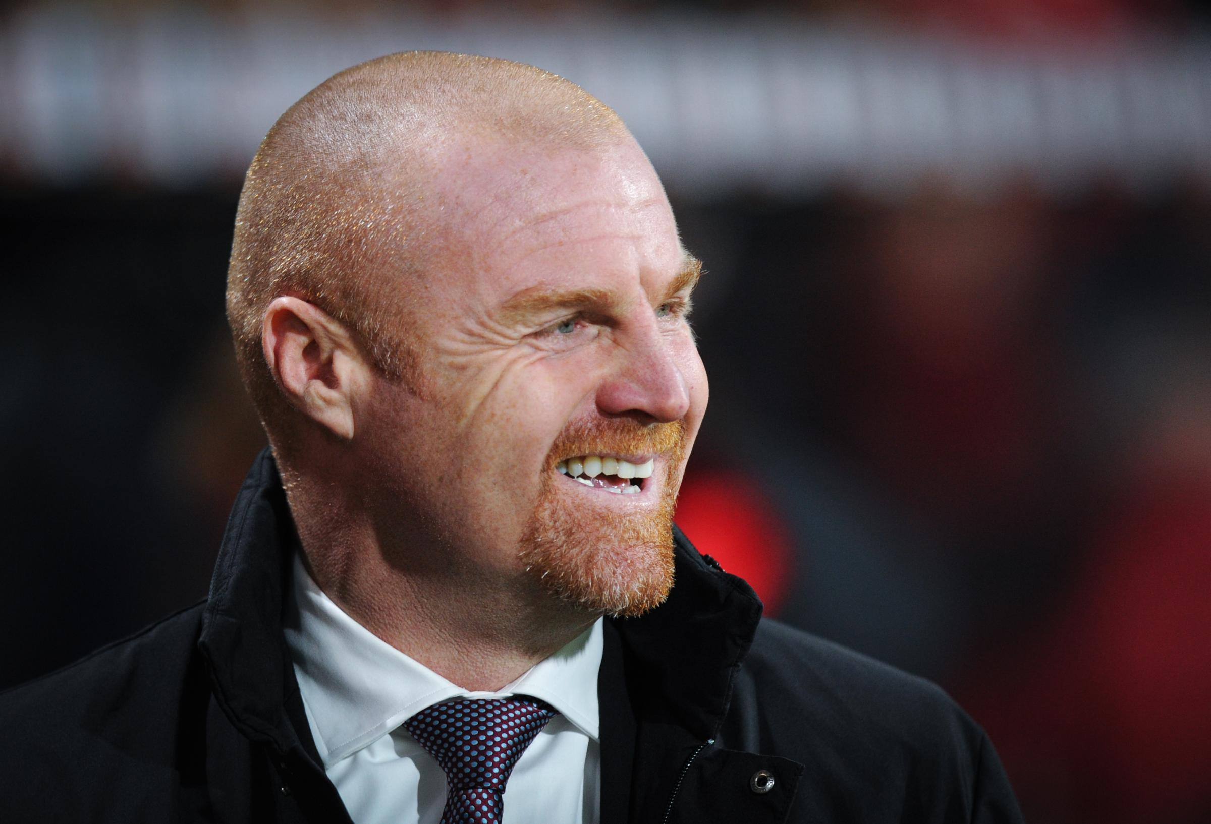 Sean Dyche was a happy man on the south coast