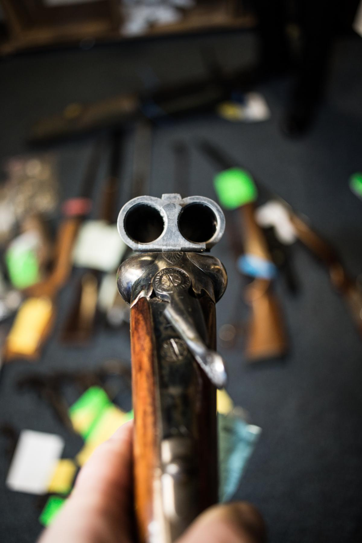 WW1 machine gun among weapons handed in during county