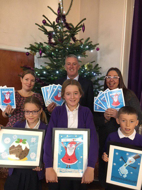 Ronset announce winner of Christmas Card Competition