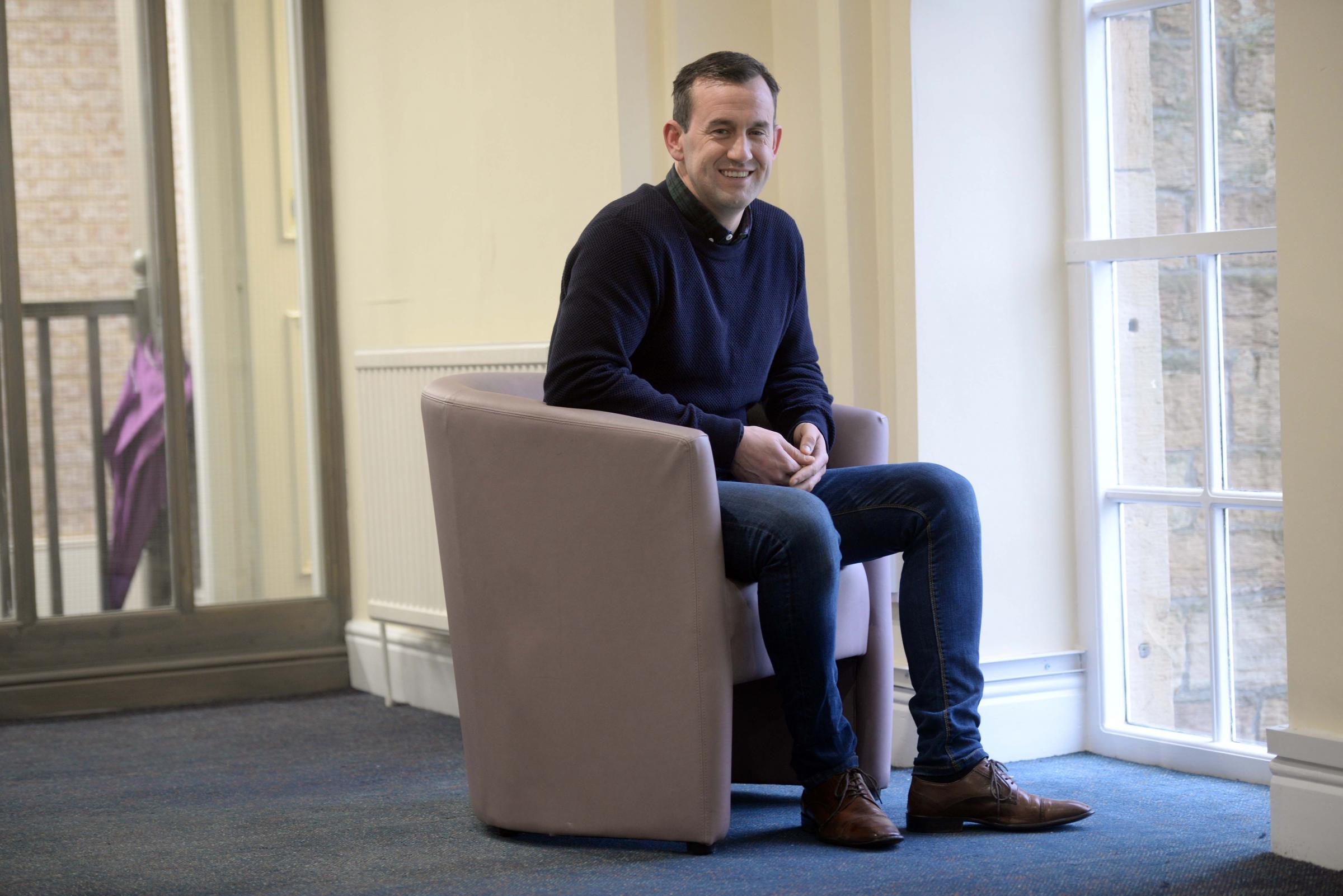 Paul Howarth pictured at his new Wellbeing Centre which the former Accrington Stanley man has opened in his hometown of Burnley Picture: TIM BRADLEY