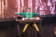 Harry Pickering as Buddy in Accrington Academy's production of Elf