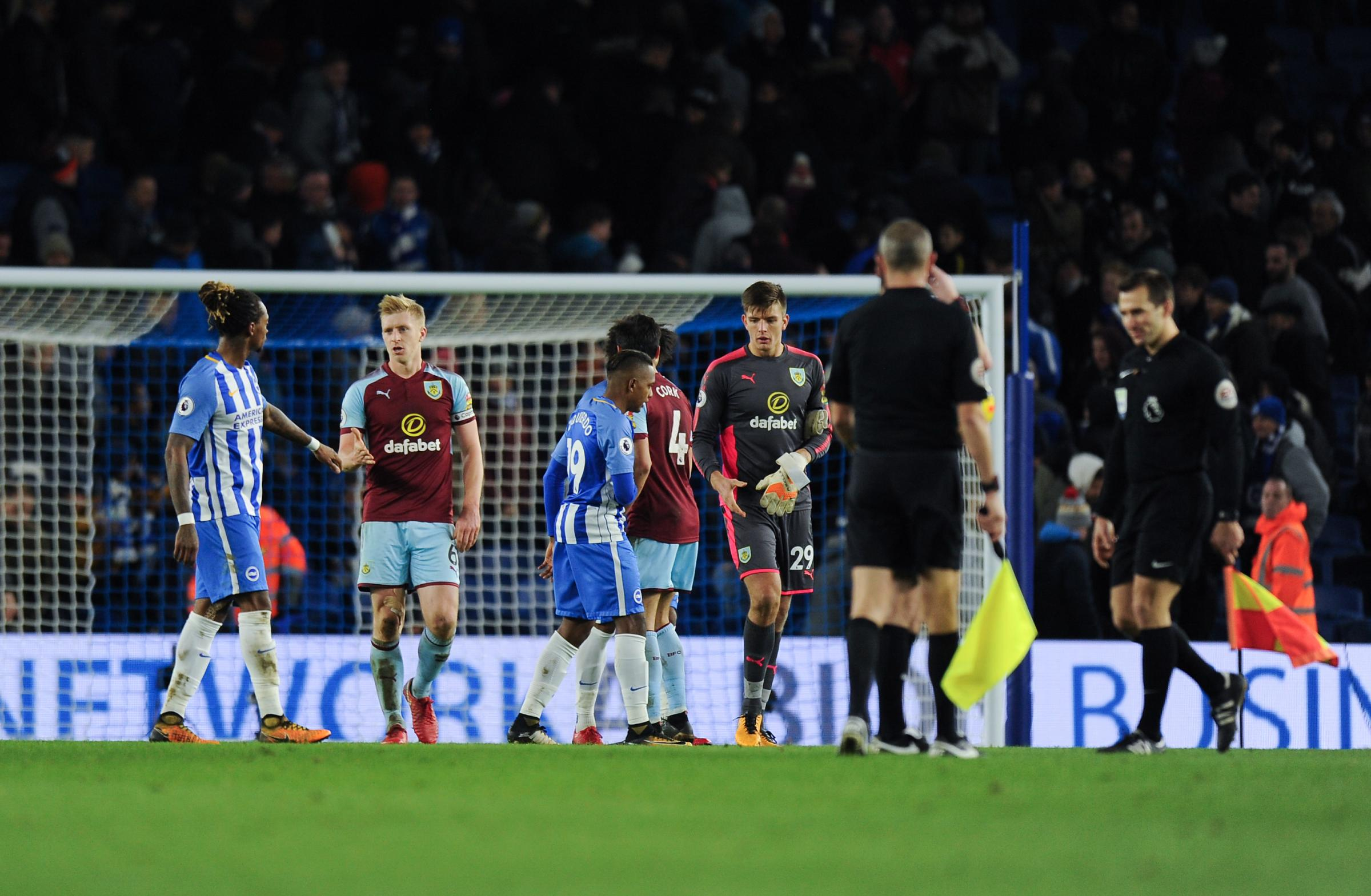 Burnley were on the end of injustice from match officials this weekend