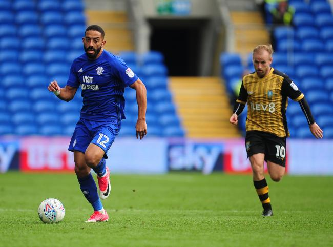 Liam Feeney has featured 12 times for Cardiff City since joining on loan in August from Rovers