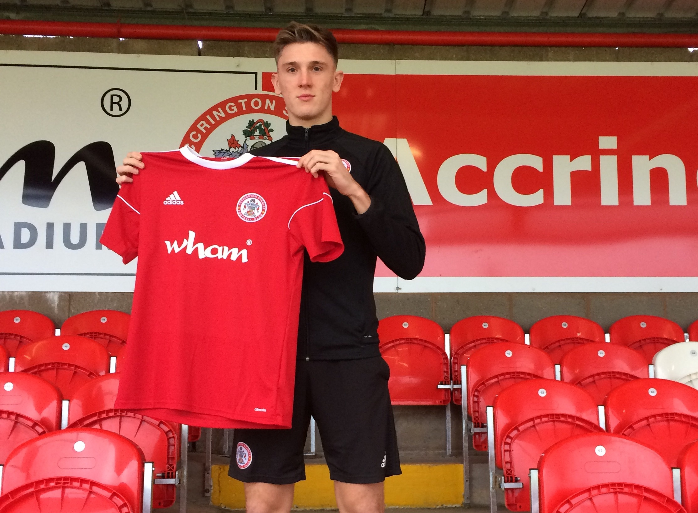 Jimmy Dunne has joined Accrington Stanley on loan from Burnley