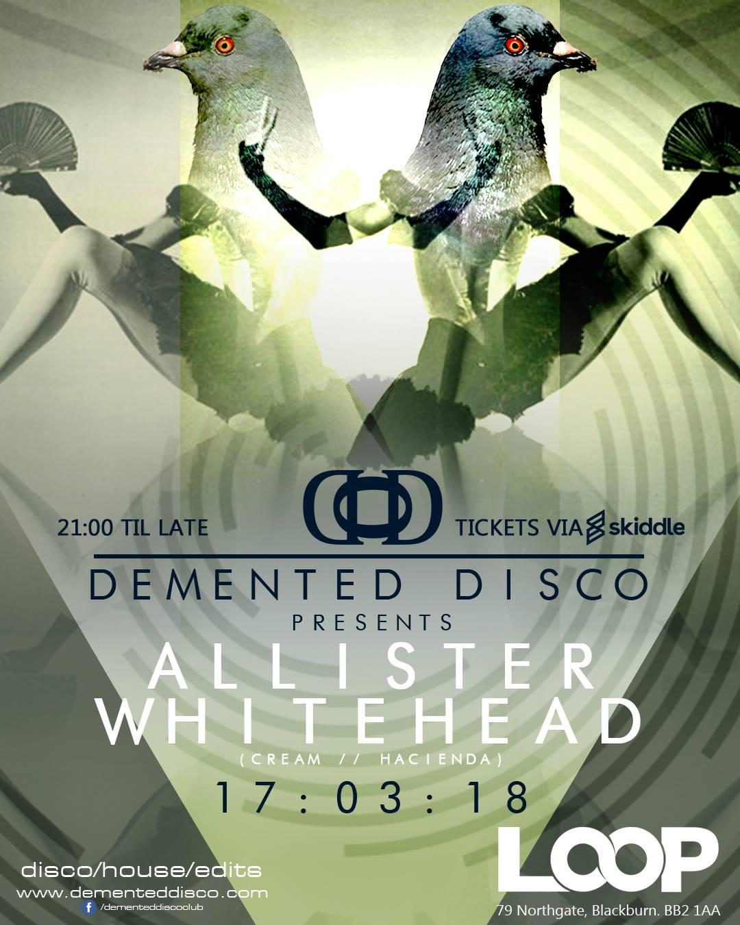 Demented Disco Presents Allister Whitehead