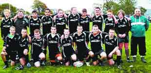 EMERGING TALENT: Colne and Nelson's Under 16s who have flourished under new coaches at the Holt House