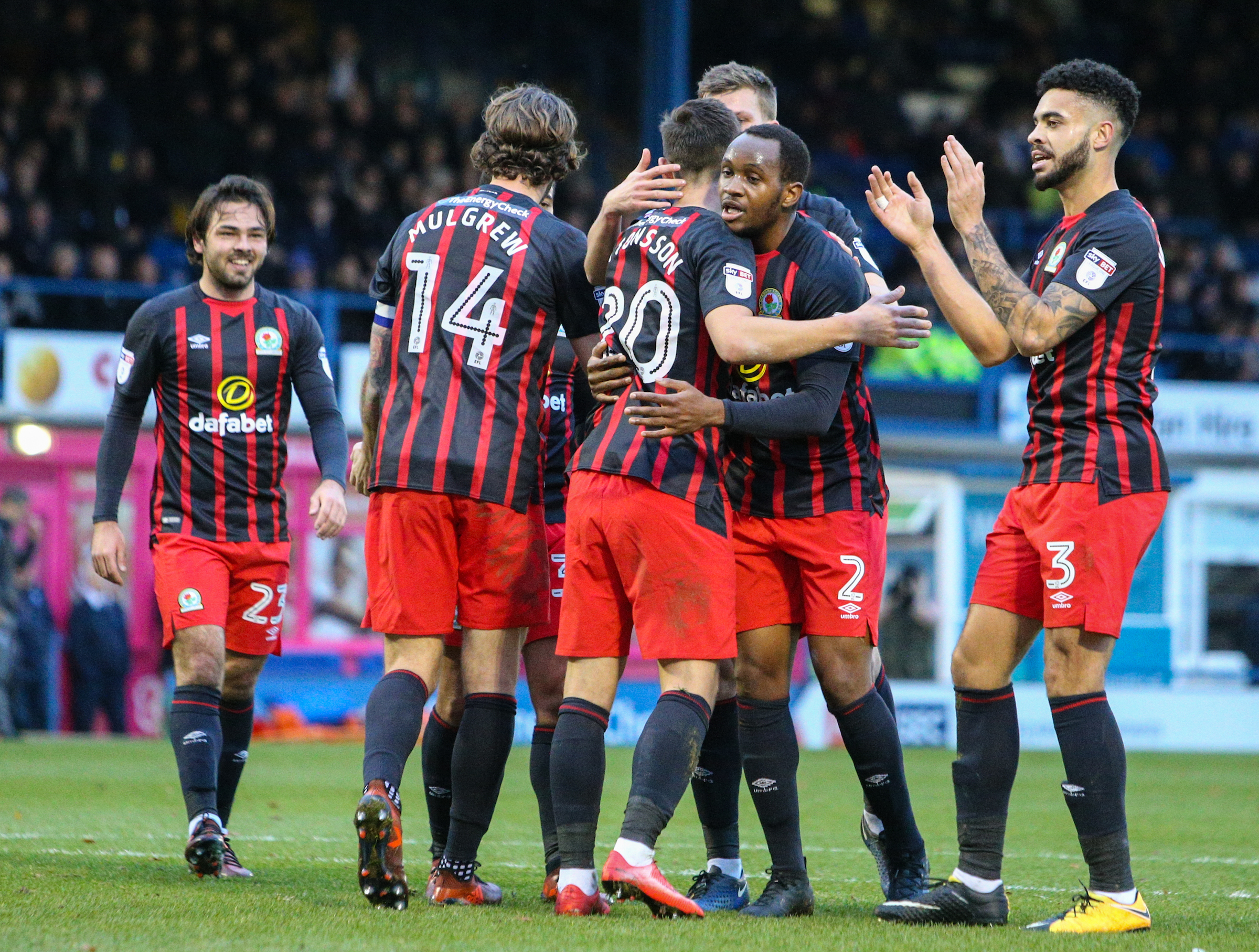 Rovers won the reverse fixture at Bury in November 3-0