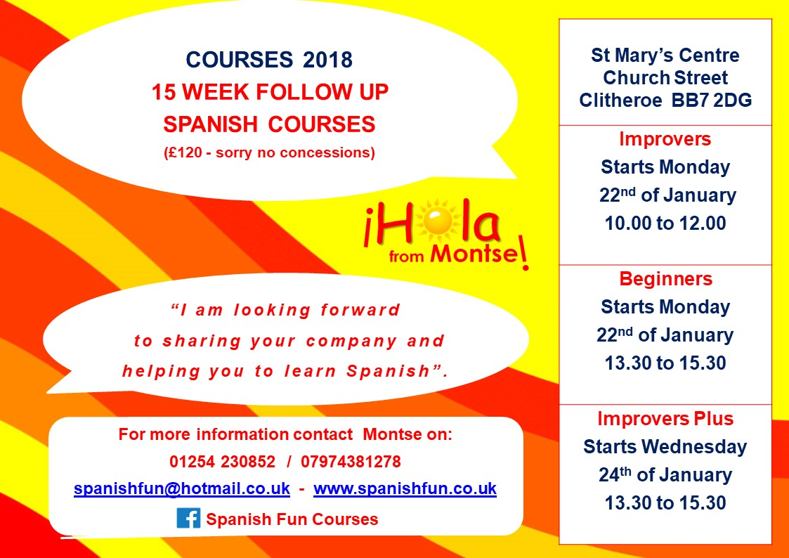 Spanish 15 Week Courses