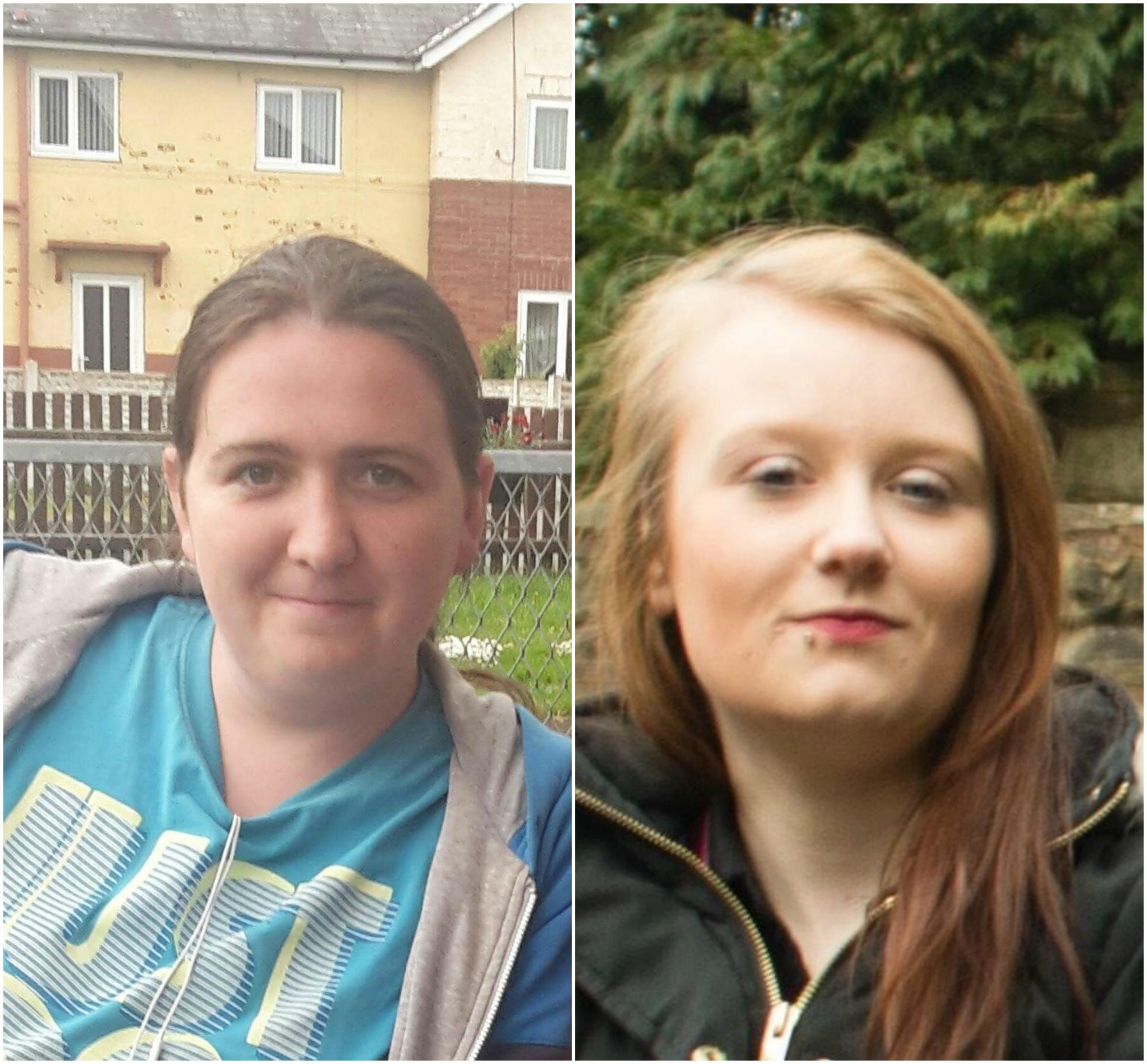 Rachel Murphy and Shelby Maher who died after being hit by Mohmed Salman Patel