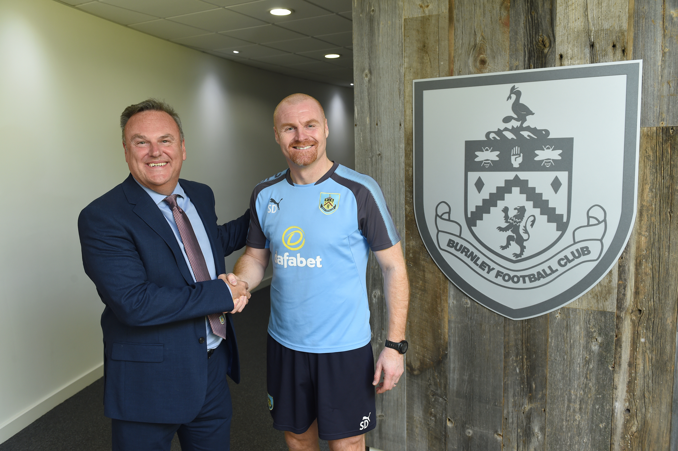 Sean Dyche on 'truthful' dialogue with chairman Mike Garlick