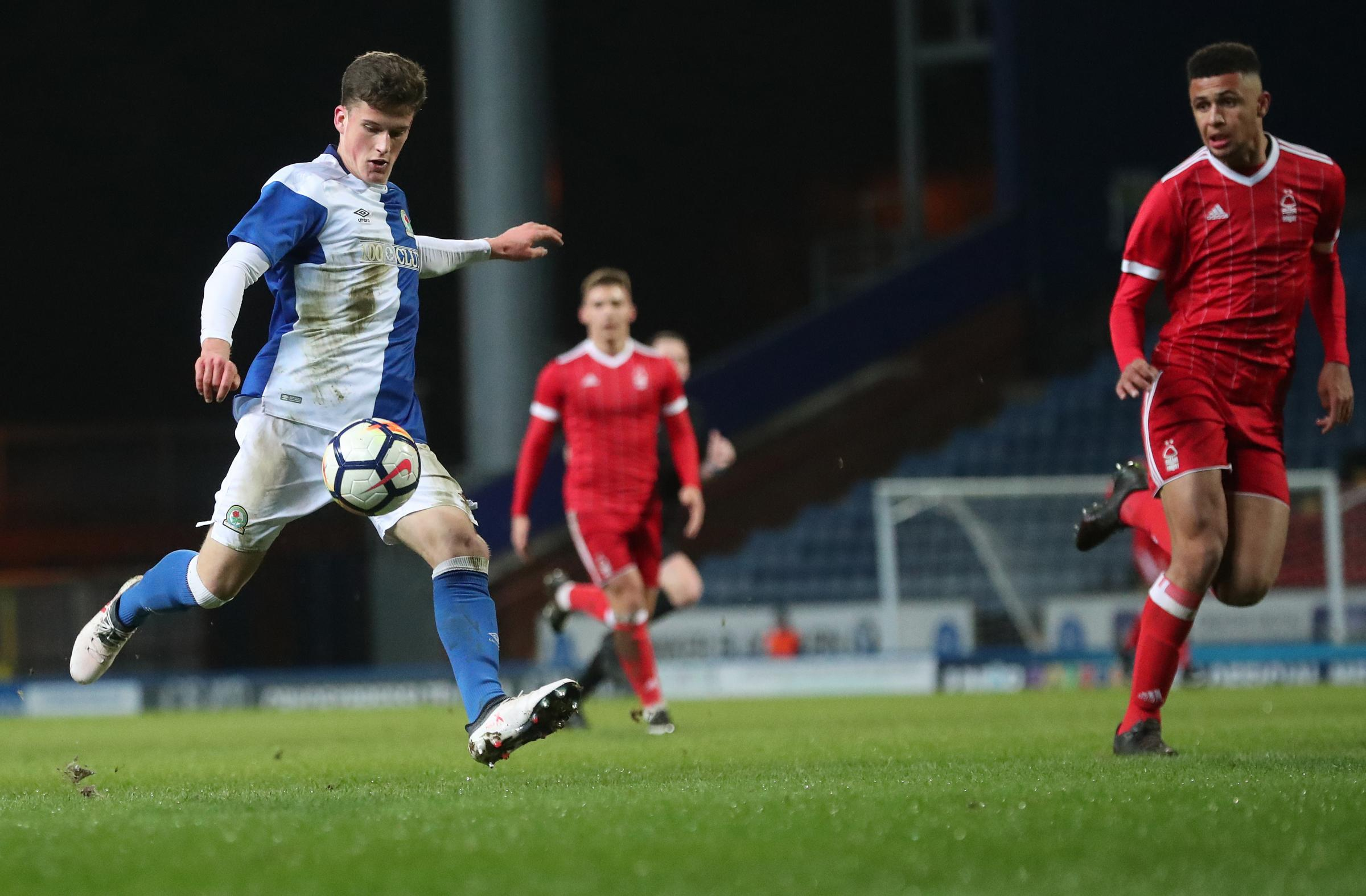 Blackburn Rovers' Jack Vale scores his side's first goal Picture: CAMERA SPORT