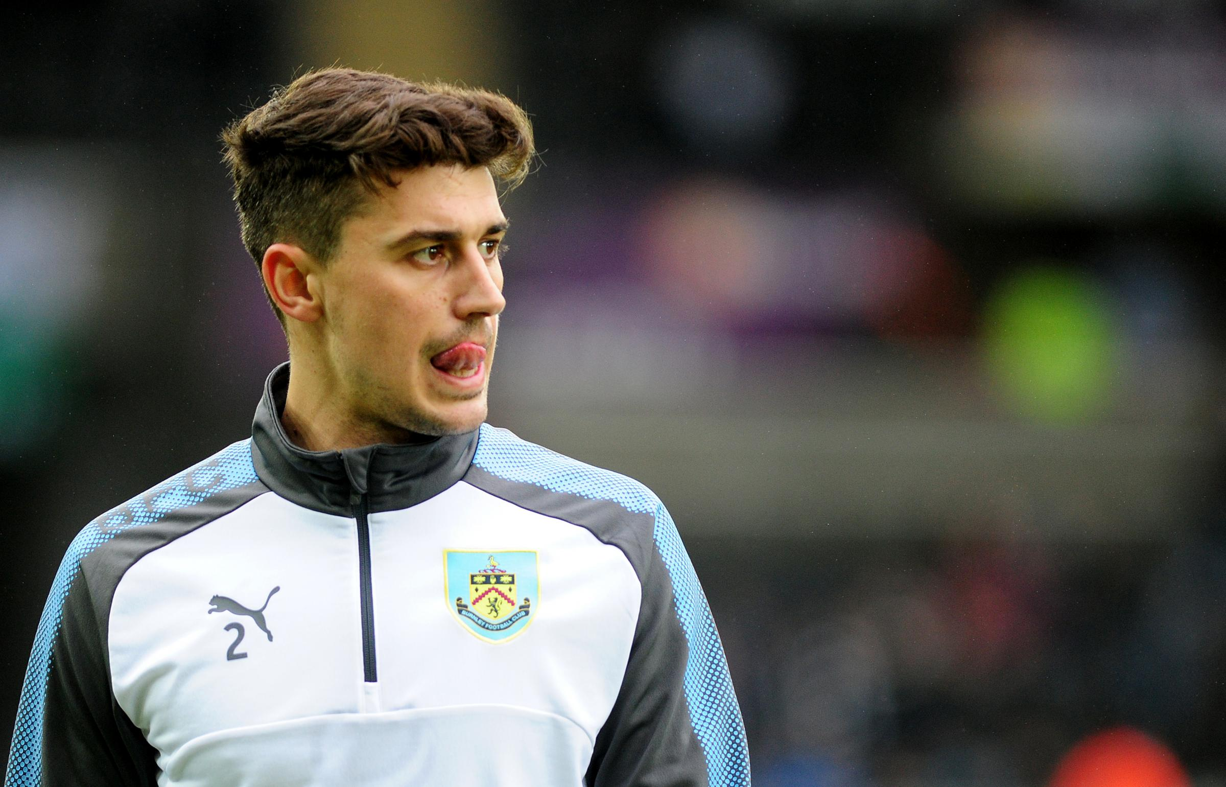 Matt Lowton was back in the starting line-up for Burnley on Saturday