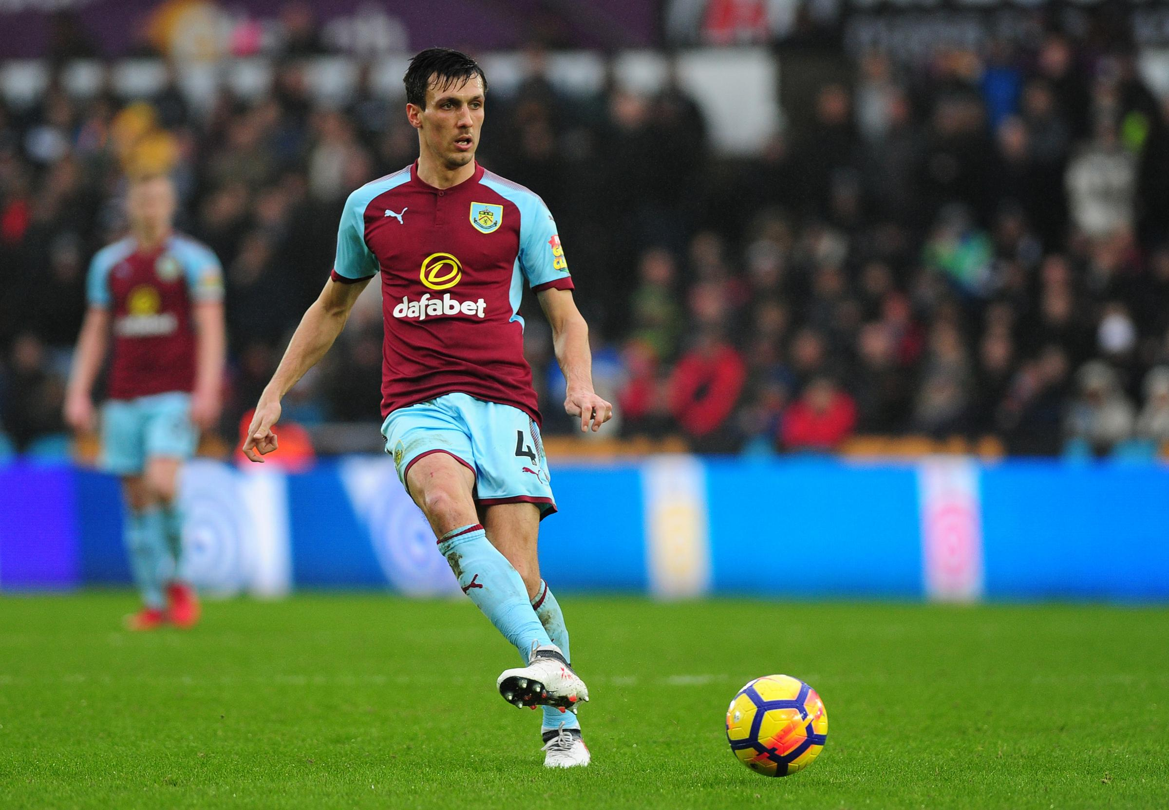 Jack Cork is looking to perform for Burnley to give himself a chance of making the World Cup squad