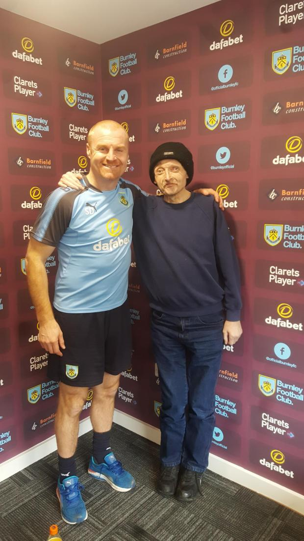 Lancashire Telegraph: Burnley FC fan Steven Hodgson, 57, has died from bowl cancer three months after he was diagnosed