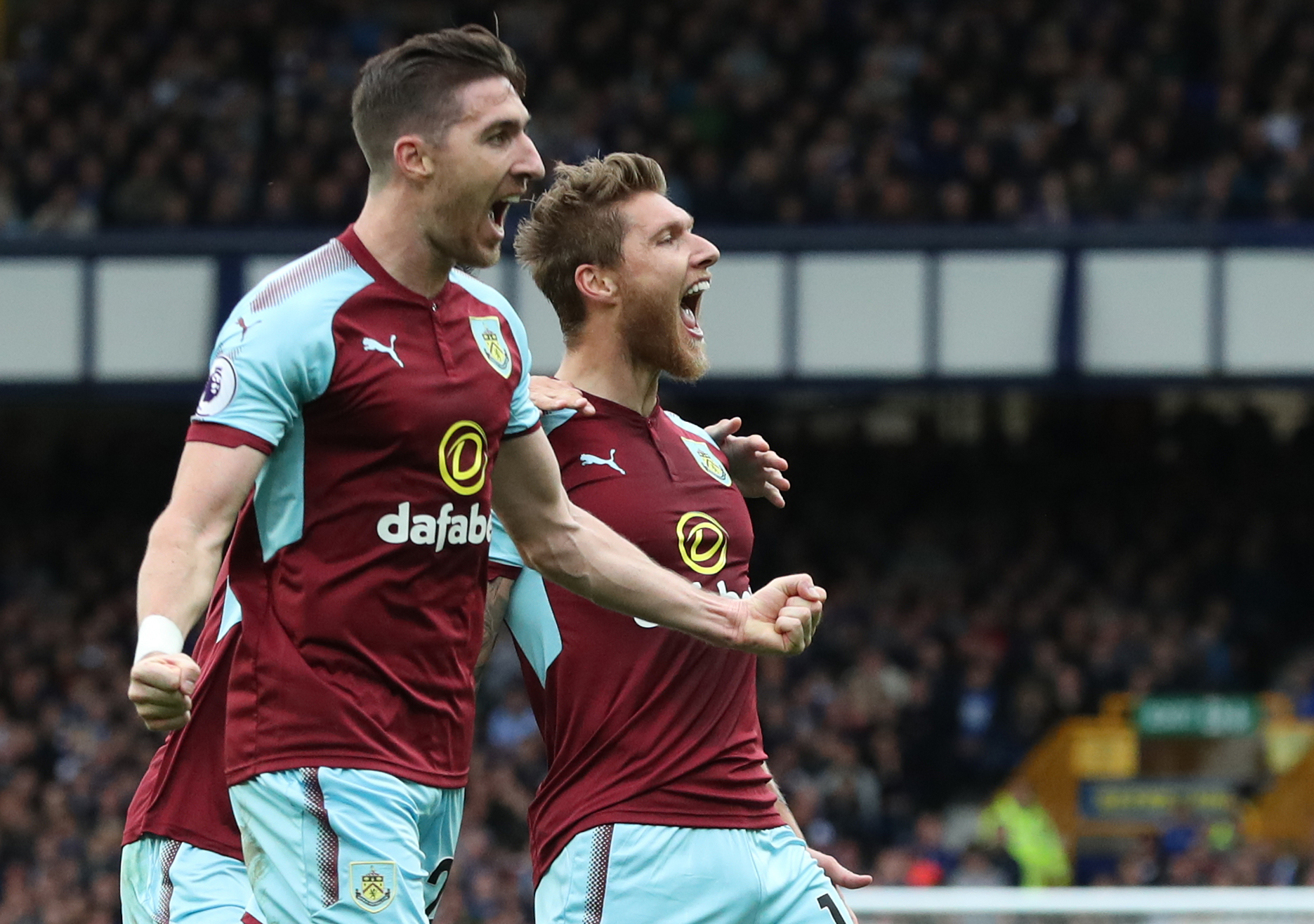 Burnley could move a step closer to a place in Europe by doing the double over Everton on Saturday