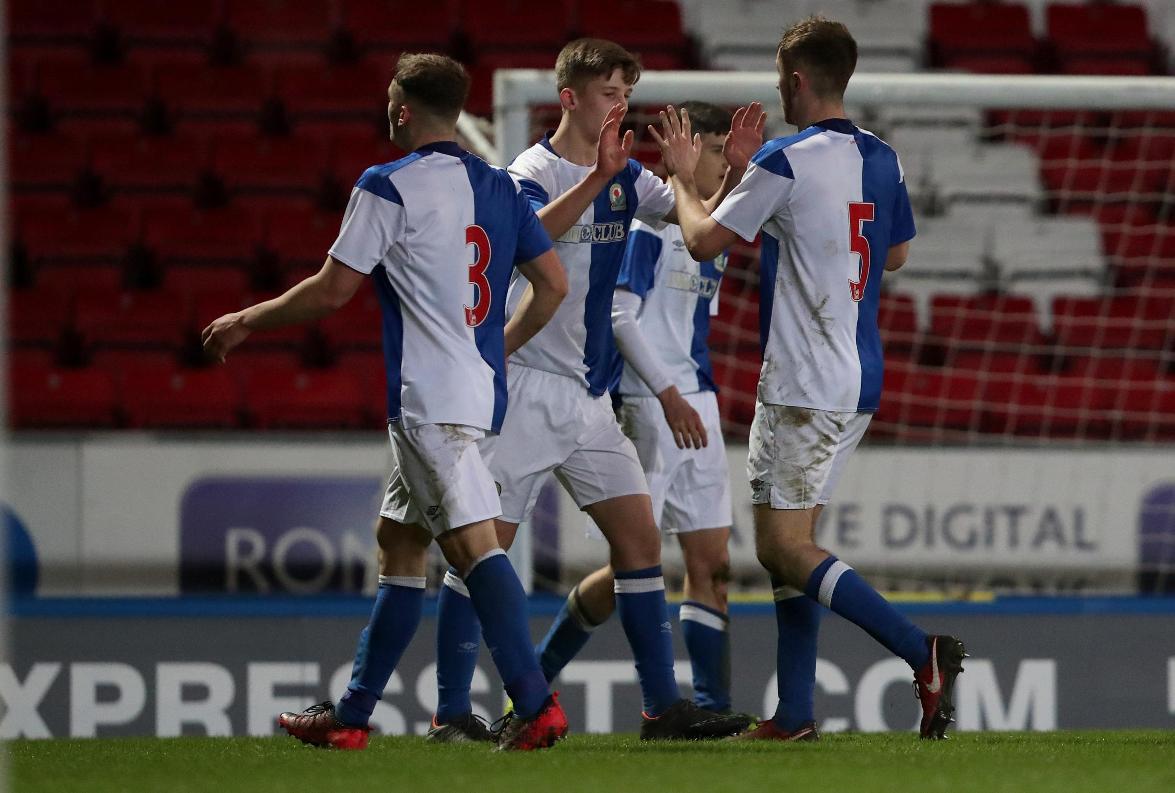 Rovers reached the last eight of the FA Youth Cup last season