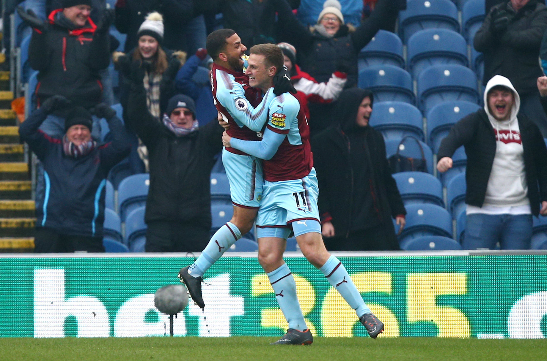 Chris Wood was back amongst the goals for Burnley last weekend, but he won't face New Zealand teammate Winston Reid this weekend