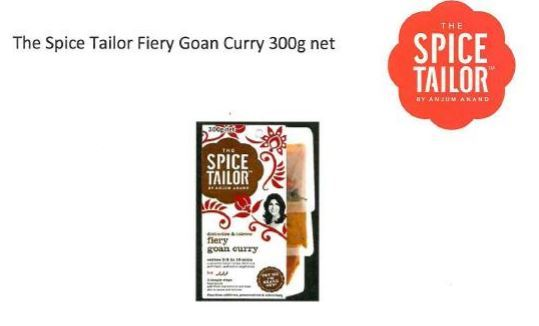The Spice Tailor Fiery Goan Curry 300g