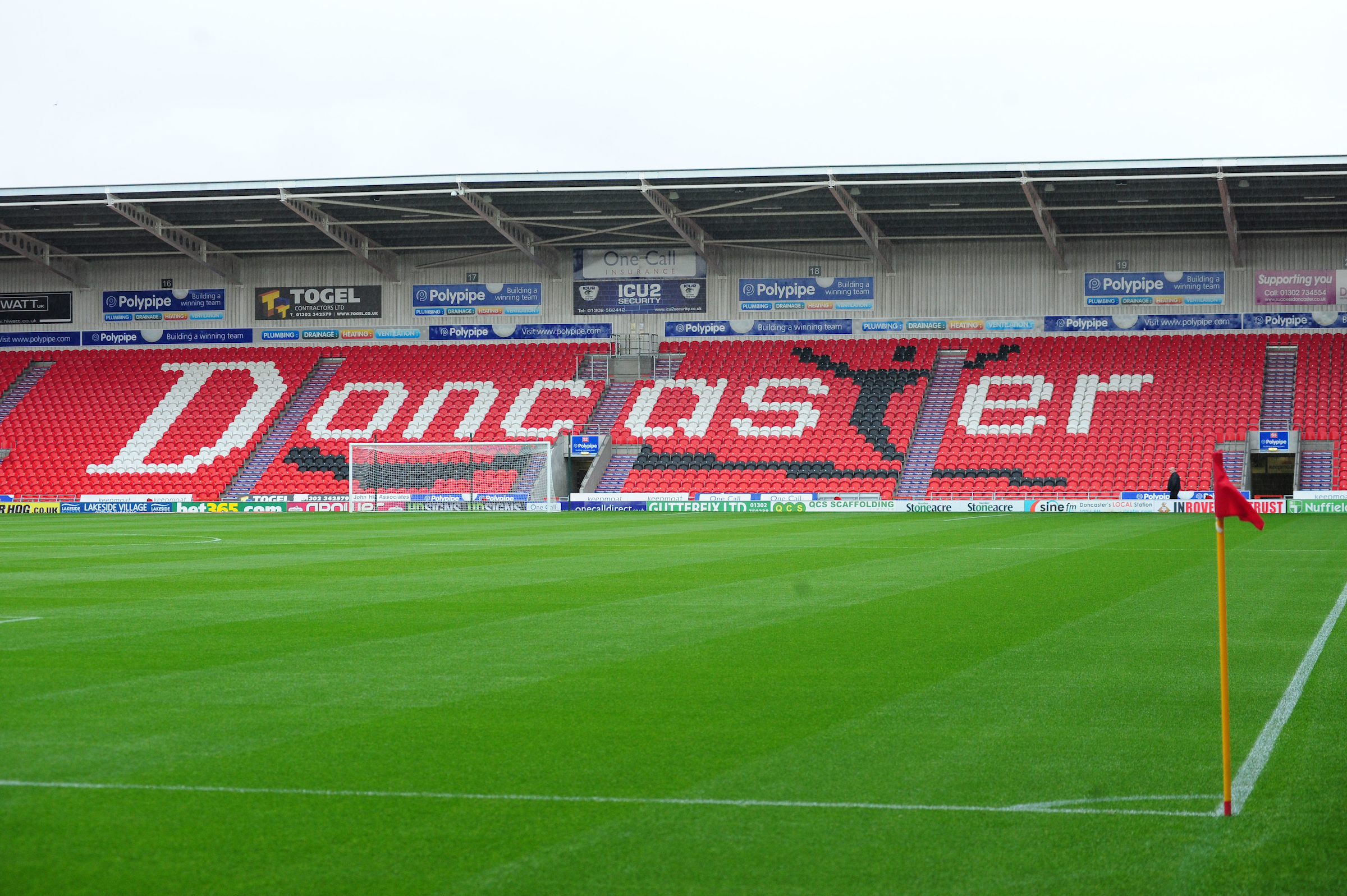 Rovers were due to travel to the Keepmoat Stadium next weekend