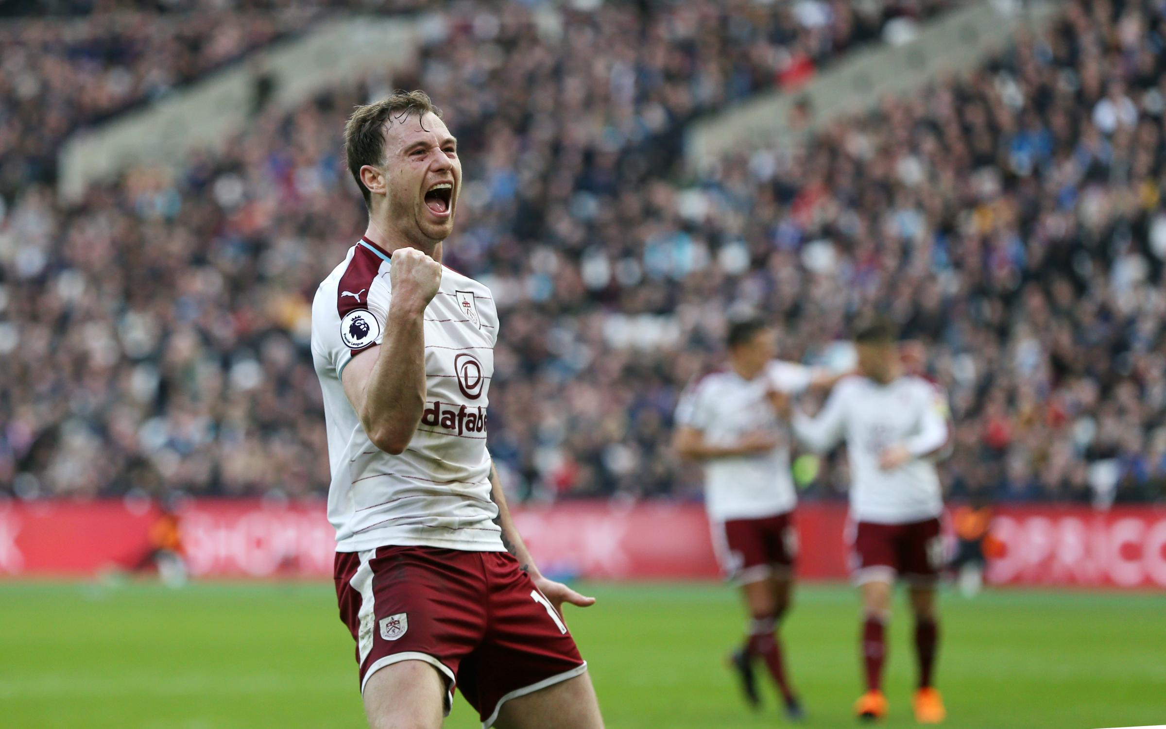 Ashley Barnes Was In The Goals For Burnley Last Season But Hes Already Consigned Those