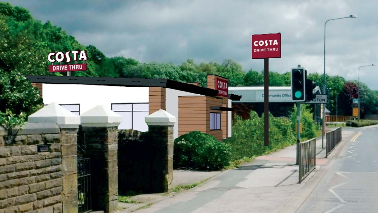 Revealed A Costa Coffee Drive Through Store Could Be Coming