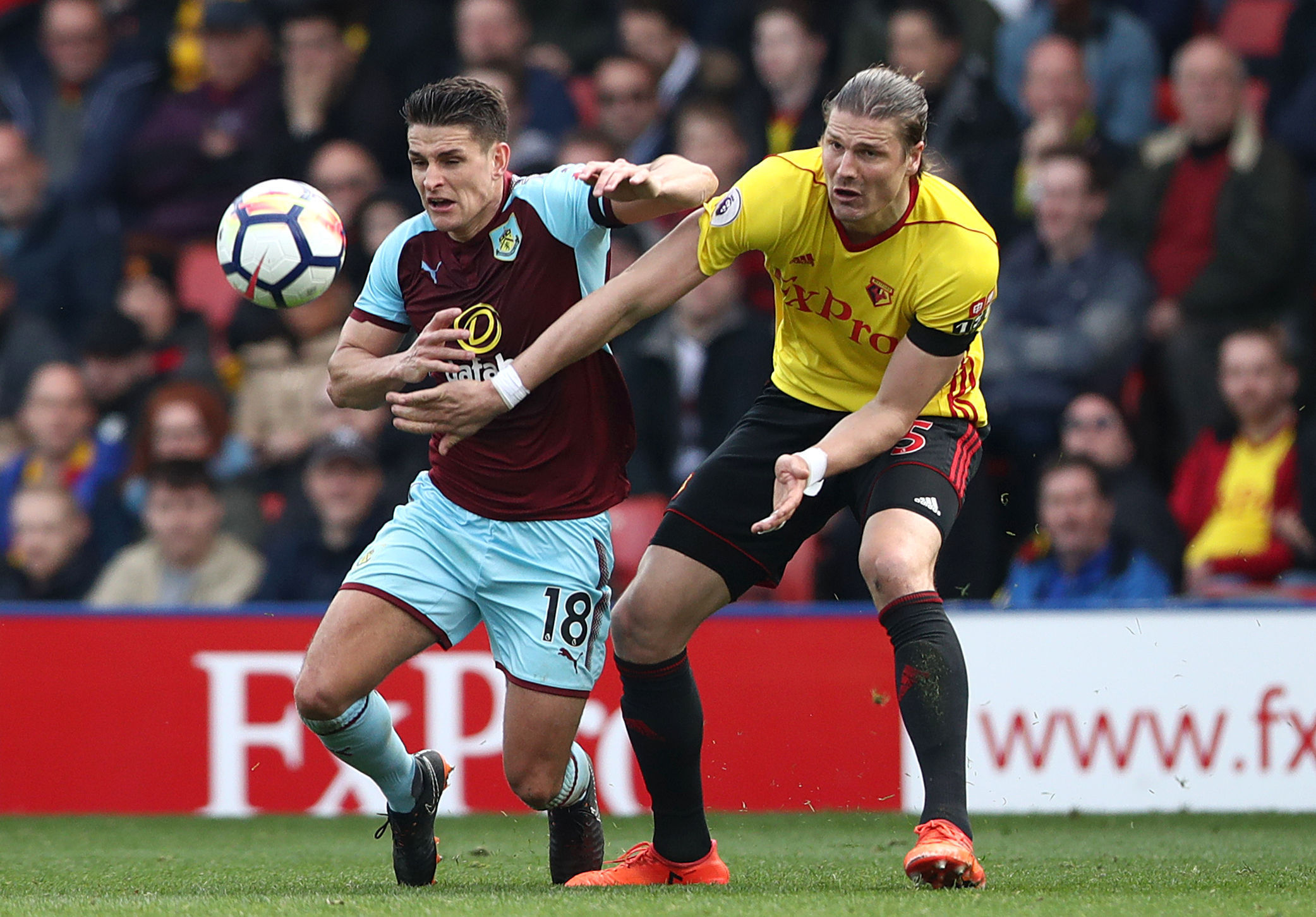 Ashley Westwood impressed in midfield for Burnley