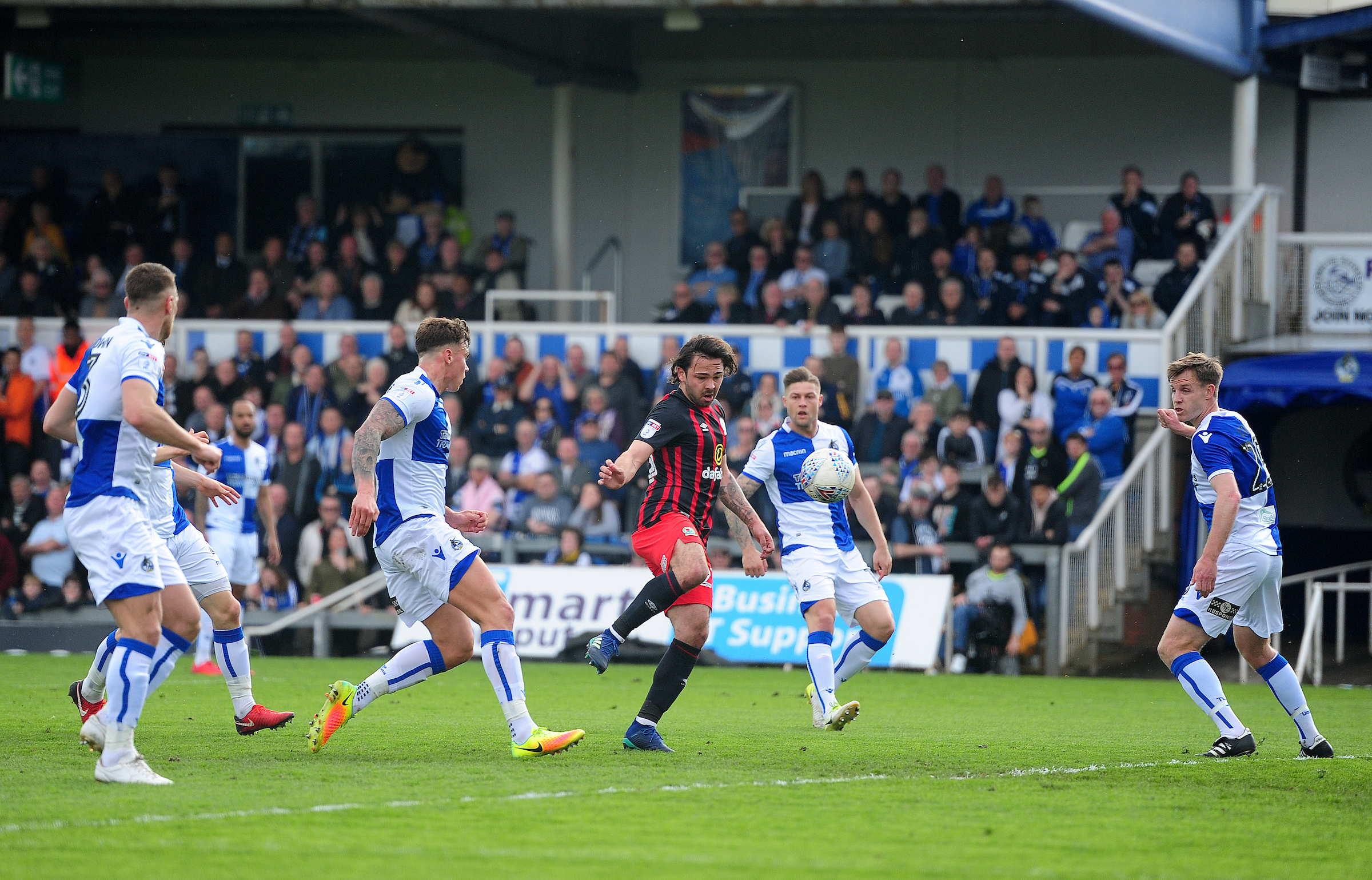 Rovers squandered a number of good openings in the draw at Bristol Rovers