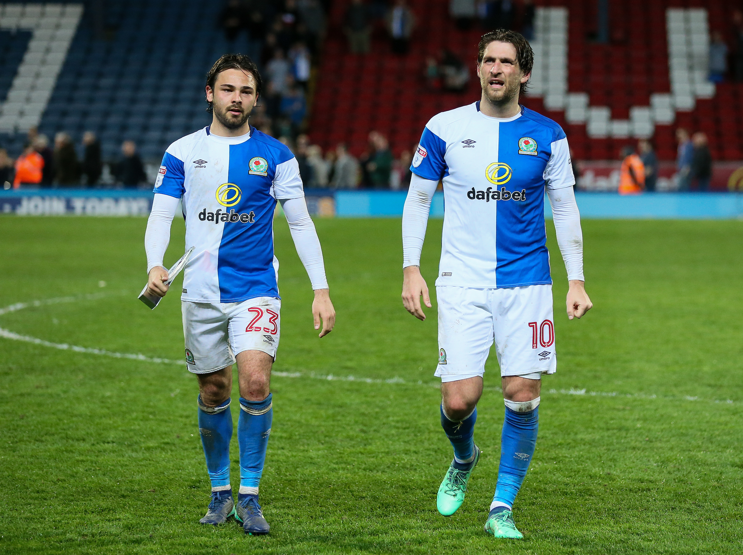 Bradley Dack and Danny Graham both netted in the win over Peterborough United
