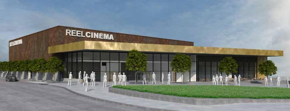 How the new Reel Cinemas development could look