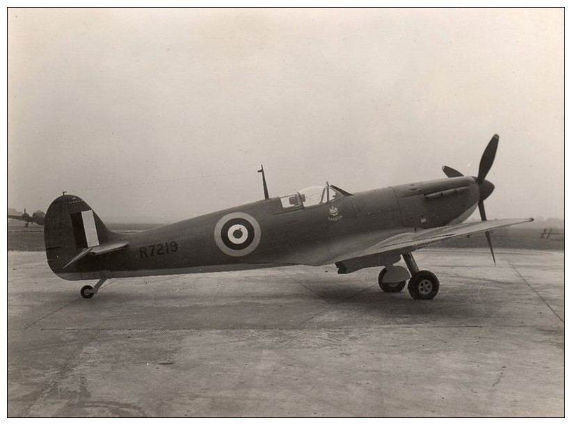 Spitfire R7219 'Borough of Darwen, bought for the RAF by townsfolk. Pic courtesy Darwen Days