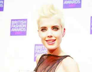 Supermodel Agyness Deyn, from Rossendale, was named the most annoying person of 2008 by BBC3