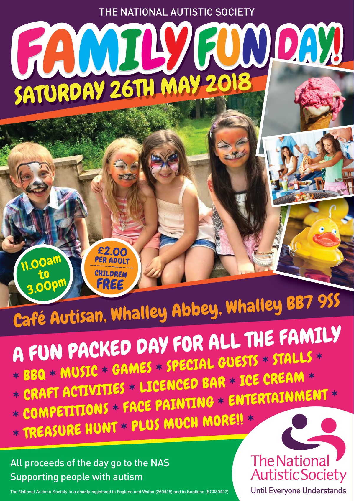 The National Autistic Society Family Fun Day