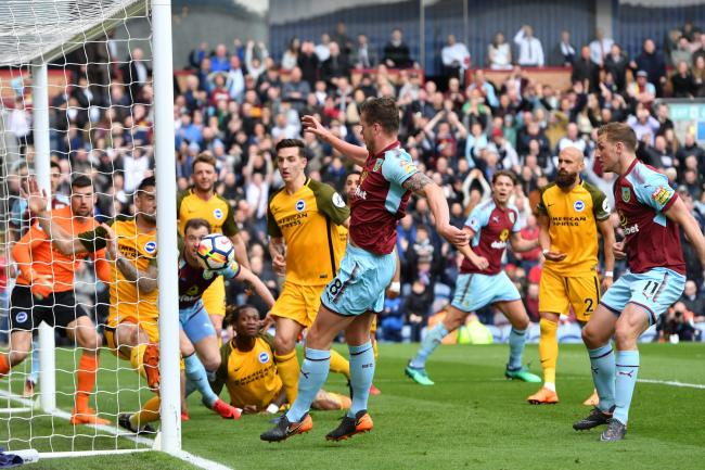 Burnley were held to a goalless draw at Turf Moor by Brighton