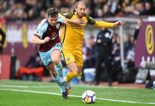 Kevin Long impressed for Burnley against Brighton