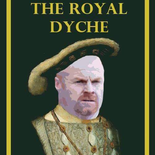 The Princess Royal, in Yorkshire Street, has been renamed 'The Royal Dyche' if Burnley manager Sean Dyche leads the Clarets to European qualification next season