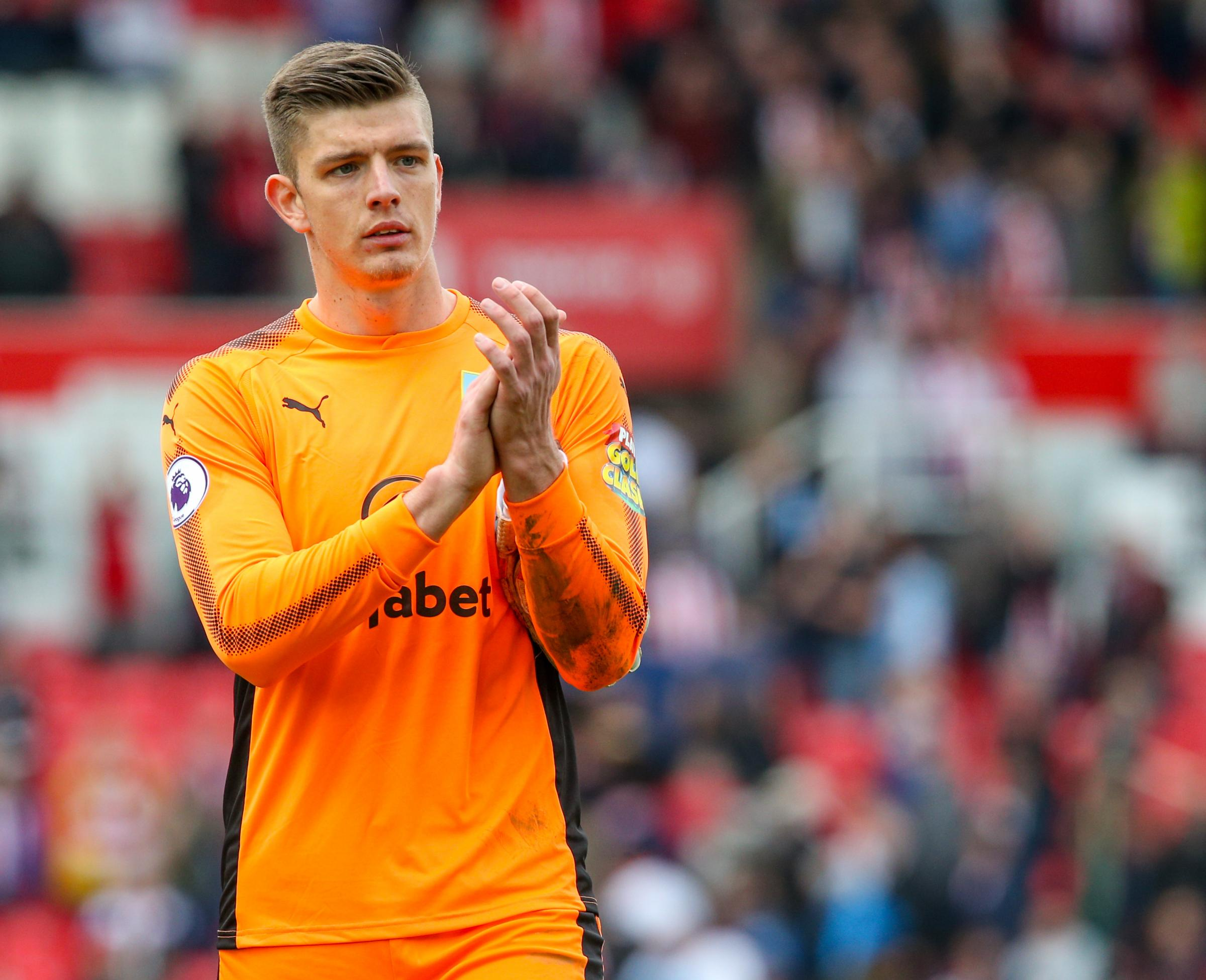 Nick Pope cleans up at Burnley Supporters Clubs awards night