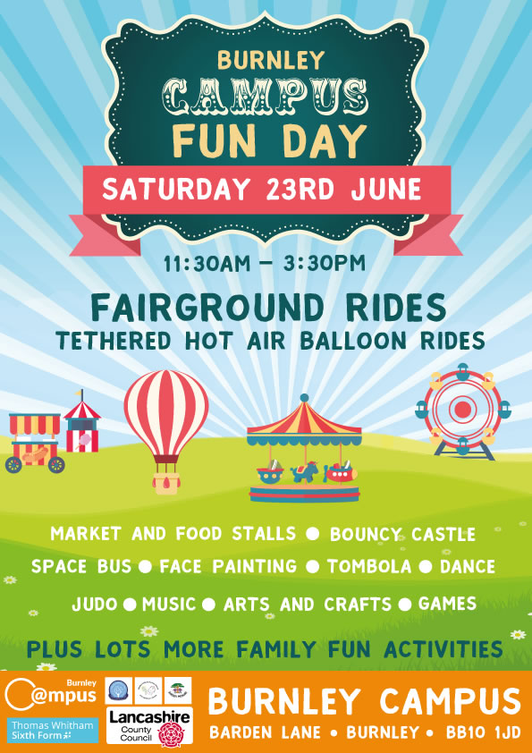 Burnley Campus Fun Day