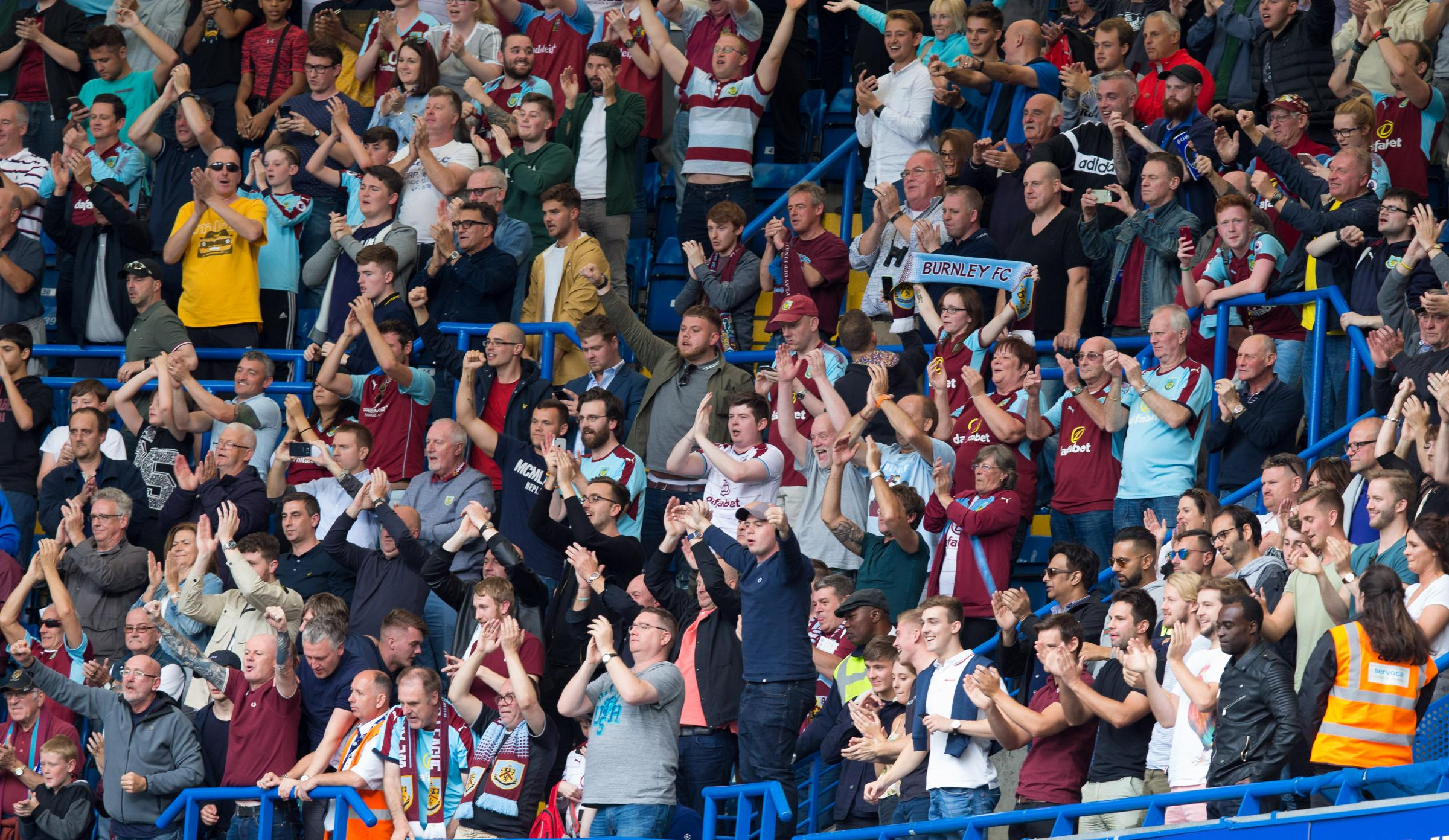 The Clarets faithful are set for a European tour in 2018/19
