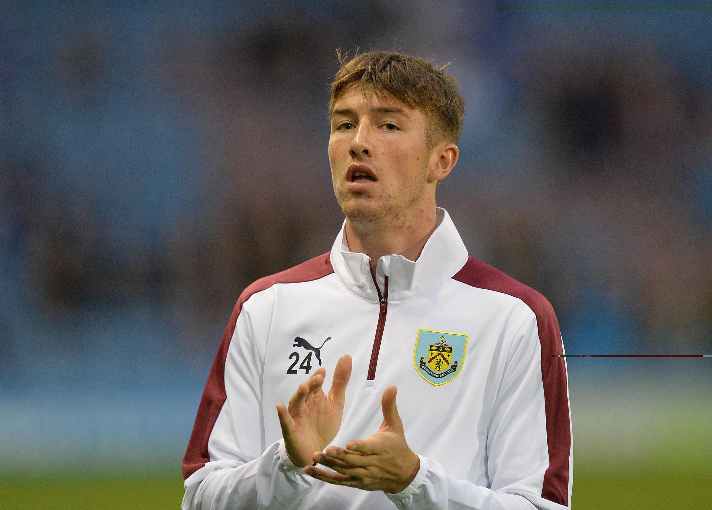 Chris Long is one of three players leaving Burnley at the end of their contracts