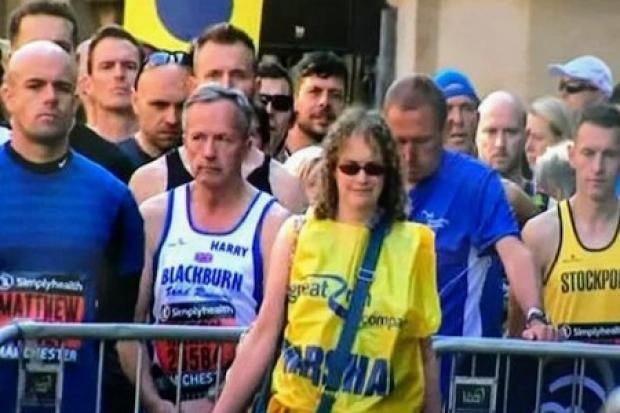 Blackburn with Darwen chief executive completes 10k Great Manchester Run