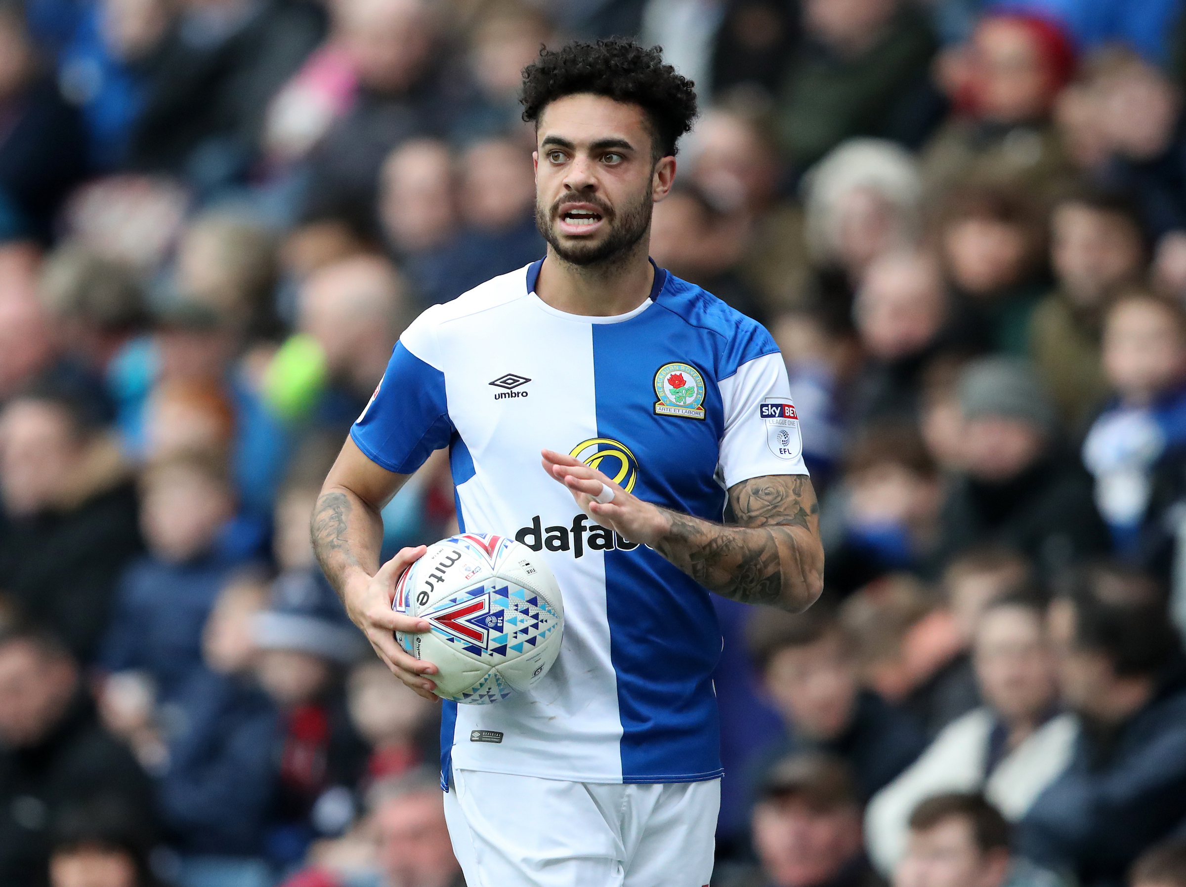 Derrick Williams has been a virtual ever present for Rovers